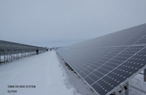 On Grid Solar Power System (On Grid Solar Photovoltaic System)